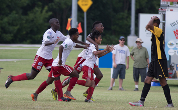 GSA wins against U14B CUP, advances to semifinals